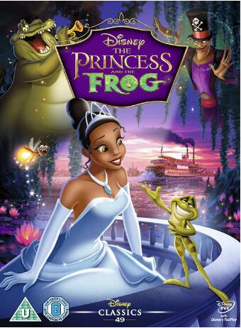 The Princess and the Frog – UK Region
