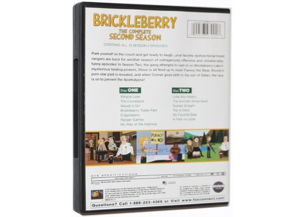 Brickleberry The Complete second Season-3