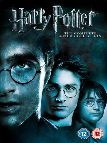 Harry Potter: Complete 8 Film Collection – Region 2