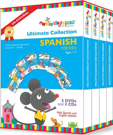 Whistlefritz: Spanish for Kids the Ultimate Collection