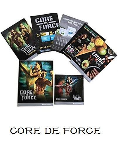 CORE DE FORCE Base Kit 4 DVD workout program