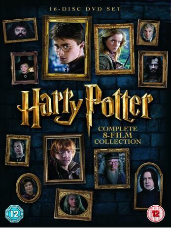 Harry Potter: Complete 8-Film Collection – UK Region