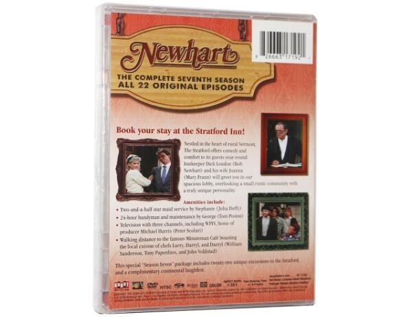 Newhart Season Seven-3