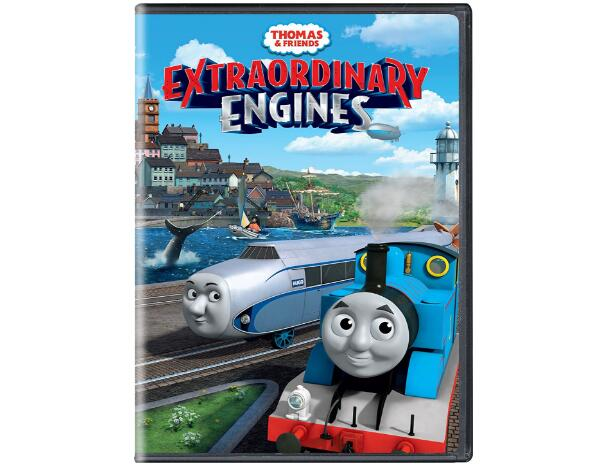 Thomas & Friends Extraordinary Engines-1