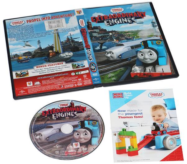 Thomas & Friends Extraordinary Engines-5