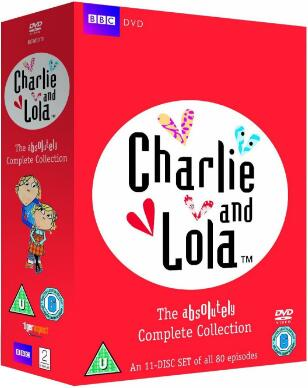 Charlie and Lola: The Absolutely Complete Collection – UK Region