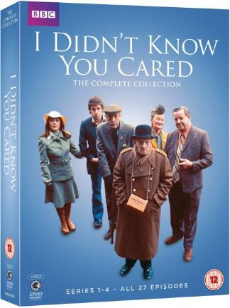 I Didn't Know You Cared: The Complete Collection – UK Region