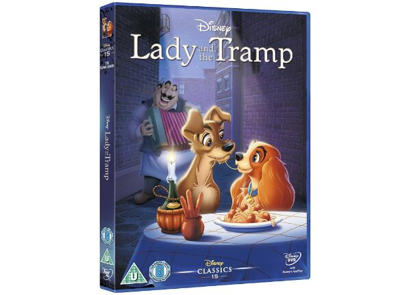 Lady and the Tramp UK Region-2