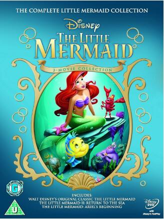 The Little Mermaid: Complete 1 – 3 DVD Film Collection Box Set [Region 2]