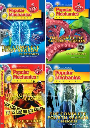 Popular Mechanics For Kids: The Complete Series-16 DVD Set