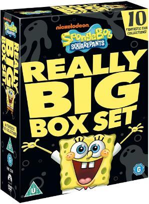 Spongebob Squarepants: Really Big Box Set – UK Region