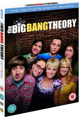 The Big Bang Theory: Season 8 – UK Region