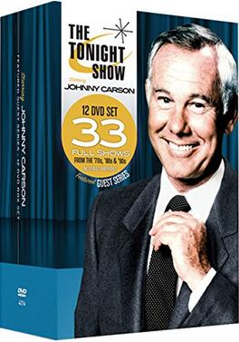 The Tonight Show starring Johnny Carson: Featured Guest Series 12 DVD Collection