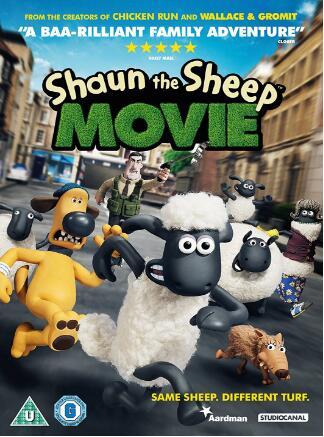 Shaun The Sheep – Disney Movie [UK Region]