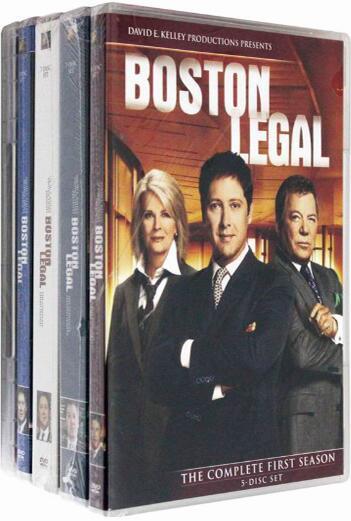 Boston Legal: Season 1-5 Complete Collection