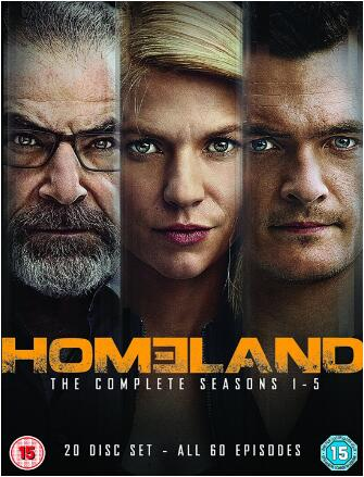 Homeland: Season 1-5 [UK Region]