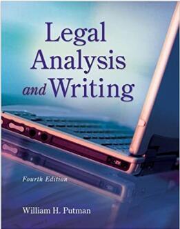 Legal Writing and Analysis (William H. Putman)