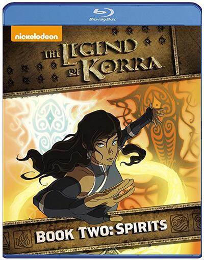 Legend Of Korra Book Two Spirits [Blu-ray]