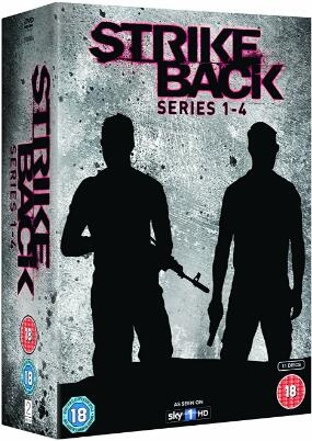 Strike Back: Series 1-4 [UK Region]