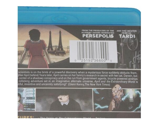 April And The Extraordinary World Blu Ray Dvd Wholesale