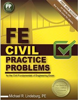 FE Civil Practice Problems (Pap/Psc Edition)