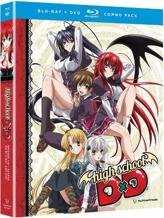High School Dxd: Complete Series [Blu-ray]