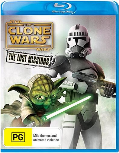 Star Wars: The Clone Wars – The Lost Missions [Blu-ray]