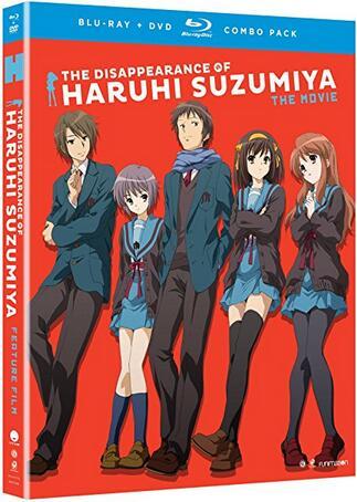 The Disappearance of Haruhi Suzumiya: The Movie [Blu-ray]