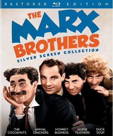 The Marx Brothers Silver Screen Collection [Blu-ray]