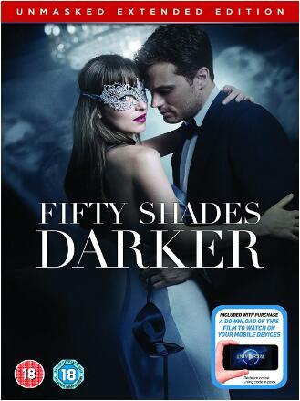 Fifty Shades Darker: Unmasked Edition (Region 2)