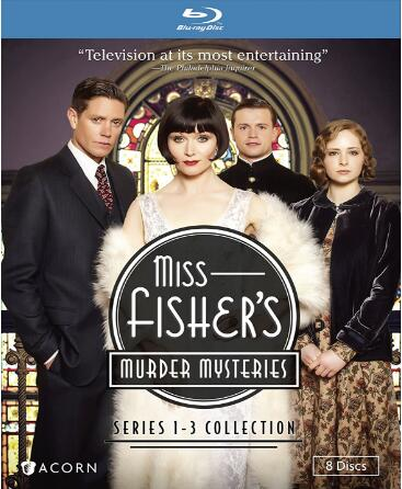 Miss Fisher's Murder Mysteries: Series 1-3 Collection [Blu-ray]