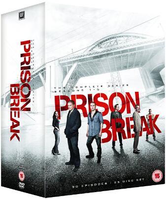 Prison Break: The Complete Series – UK Region