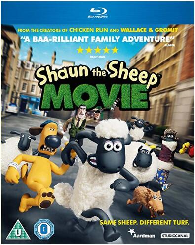 Shaun The Sheep – The Movie [Blu-ray] [2015]
