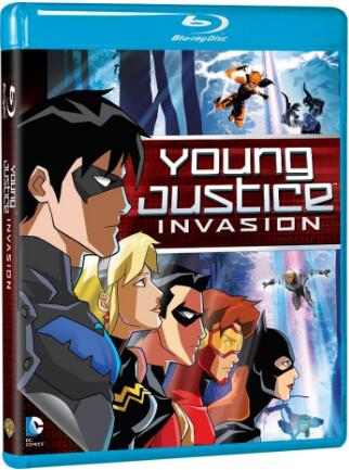 Young Justice Invasion: SEASON 2 [Blu-ray]