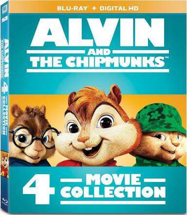 Alvin and the Chipmunks 4 [Blu-ray]