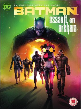 Batman Assault On Arkham -uk region