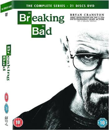 Breaking Bad The Complete Series -uk region