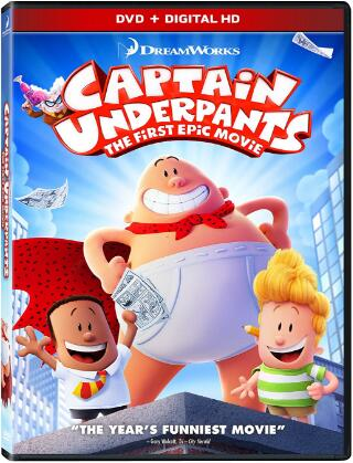 Captain Underpants First Epic Movie