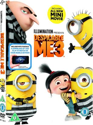 Despicable Me 3 -uk region