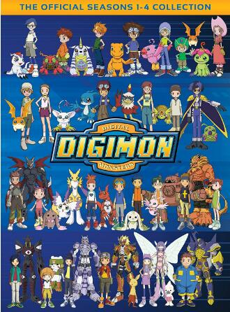 Digimon The Official Seasons 1-4 Collection