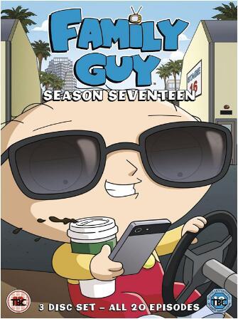 Family Guy: Season 17 – UK Region