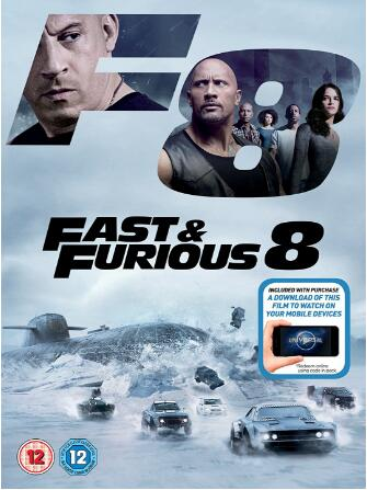 Fast & Furious 8 -UK Region