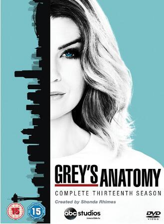 Grey's Anatomy: Season 13 – UK Region