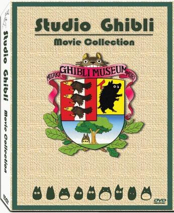 Hayao Miyazaki & Studio Ghibli Deluxe 17 Best Movie Collection