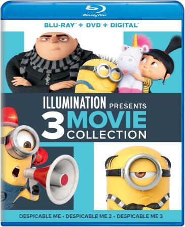 Illumination Presents 3-Movie Collection [Blu-ray]