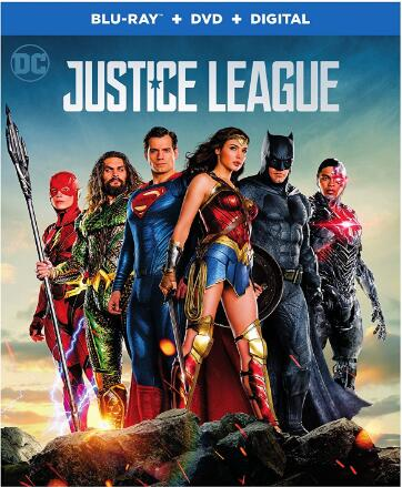 Justice League [Blu ray]