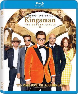 Kingsman 2 The Golden Circle [Blu-ray]