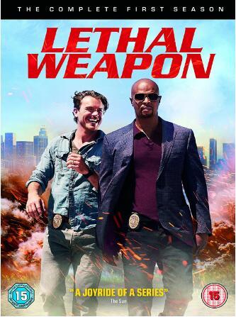 Lethal Weapon Season 1 -uk region
