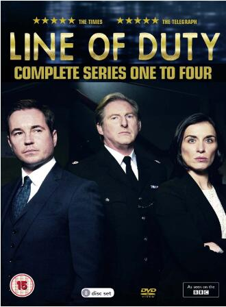 Line of Duty Series 1-4