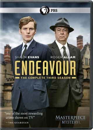 Masterpiece Mystery Endeavour Series 3